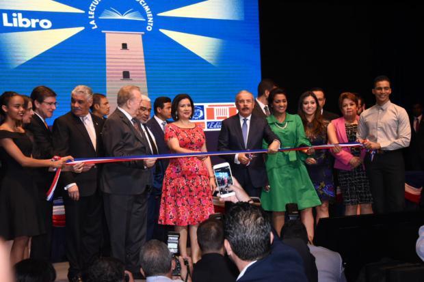 Presidente Danilo Medina deja inaugurada la 22ª Feria Internacional del Libro Santo Domingo 2019