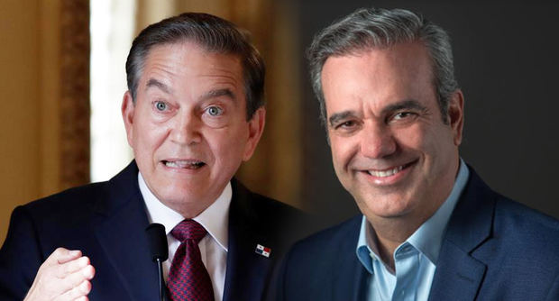 El presidente de Panamá, Laurentino Cortizo junto al Presidente de la República Dominicana, Luis Abinader.