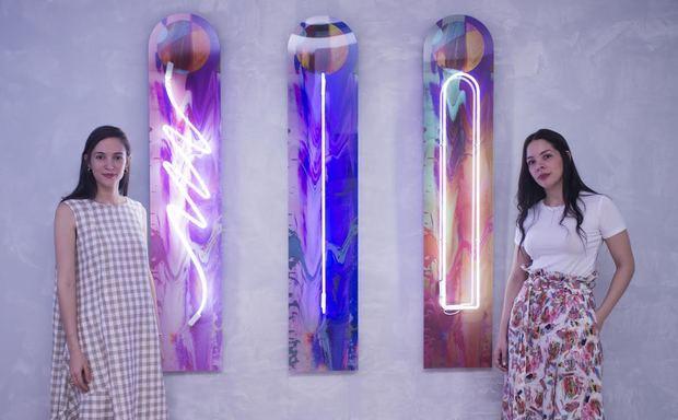 Las artistas Márolyn Medina y Laura Franco se unieron en un reto creativo titulado Vainillas Lights on Laura Franco.