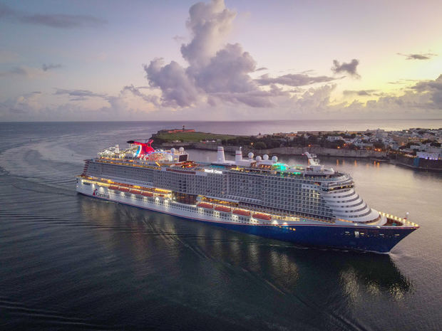 Puerto Rico recibe su primer crucero desde el inicio de la pandemia.