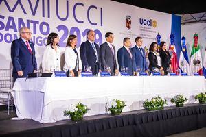 XXVII Reunión de Alcaldes y Alcaldesas de Centroamérica, Mexico y El Caribe, con la presencia de delegaciones de nueve países y el alcalde del Distrito Nacional David Collado.
