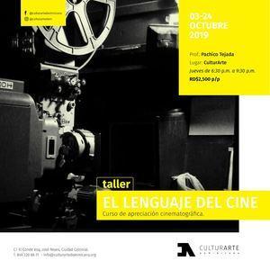Taller Cine CulturArTe 2019.