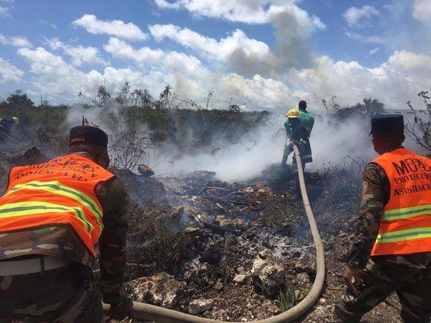 ¿Fue el incendio en Punta Cana provocado por criminales?