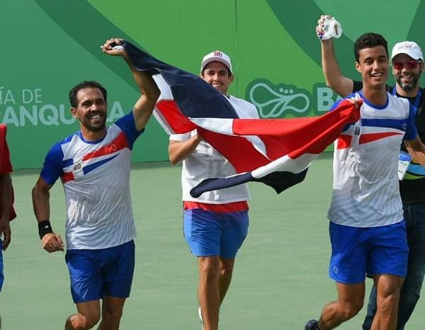 Tenis RD masculino logra el oro Copa de Naciones en Centroamericanos