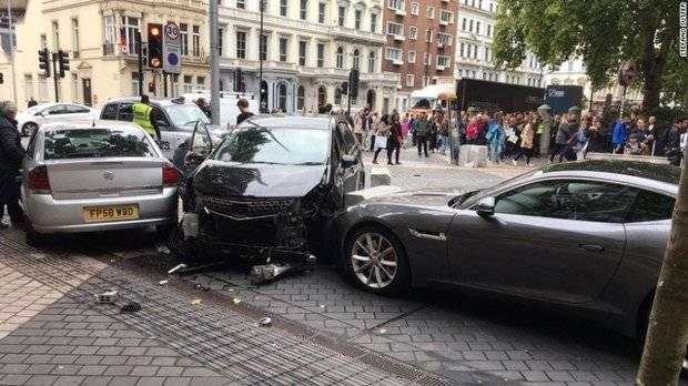 Accidente en Londres.