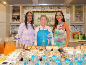 Erika Santos, Dana Guttmann y Lorena Gutiérrez