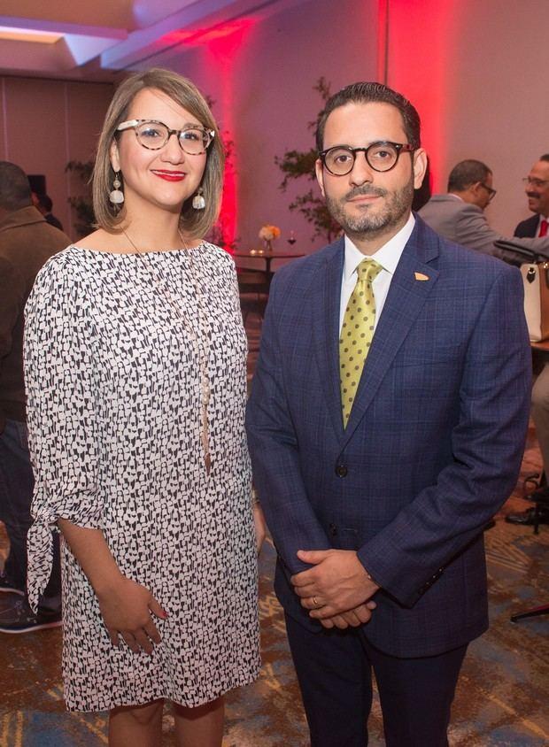 Melina Santos y Carlos Núñez.