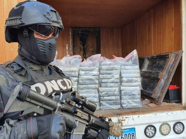 Decomisan en Haina Oriental 60 paquetes de cocaína procedentes de Colombia