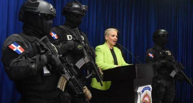 La DNCD afirma que responderá a agresiones de los narcotraficantes