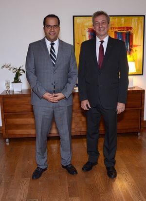 Alberto Reyes y Hans-Ulrich Von Schroeter