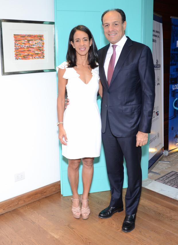 Maritza Minguez y José Manuel Alburquerque.