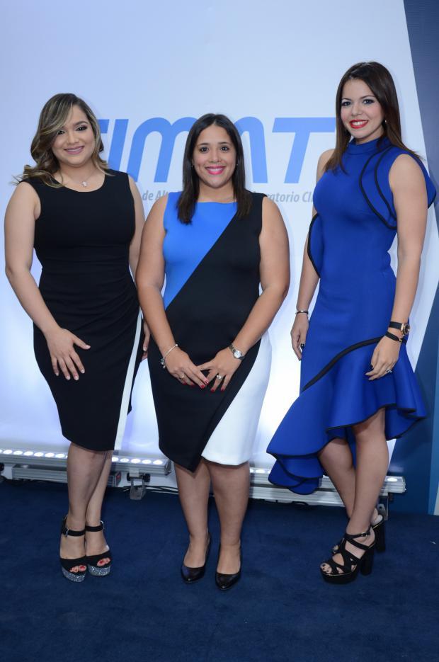 Nilda Franco, Rosa Mejía y Paola Alvarado