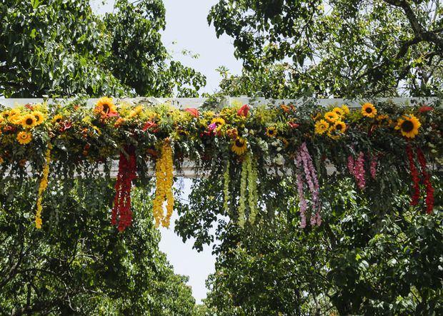 Festival de las flores.