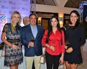 Abigail Molin, Samuel Álvarez, Harolind Rizik y Cindy Dalmasí.