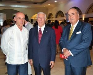 Alejandro Abellan García de Diego, Antonio Rodríguez Villacañas y Juan José Arteaga.