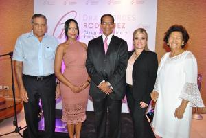 Leandro Lozada, Dra. Lourdes Rodríguez, Héctor Rodríguez Pimentel, Michelle Selman y Zoila Martínez de Medina