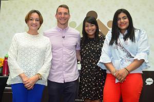 Lady Reyes, Brain Rashid Carolina Fernández y Francina Socia