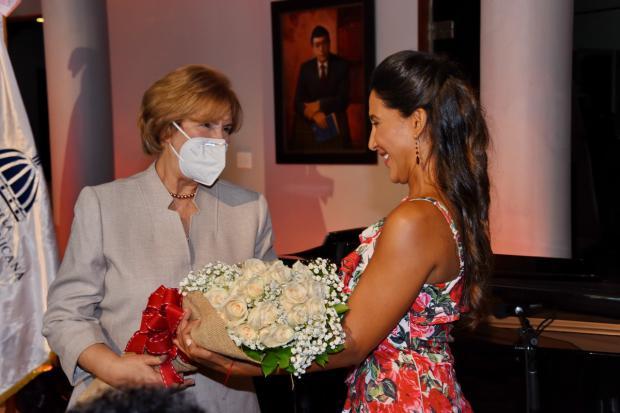 Ministerio de Cultura ofrece recital de lujo con la soprano Nathalie Peña Comas