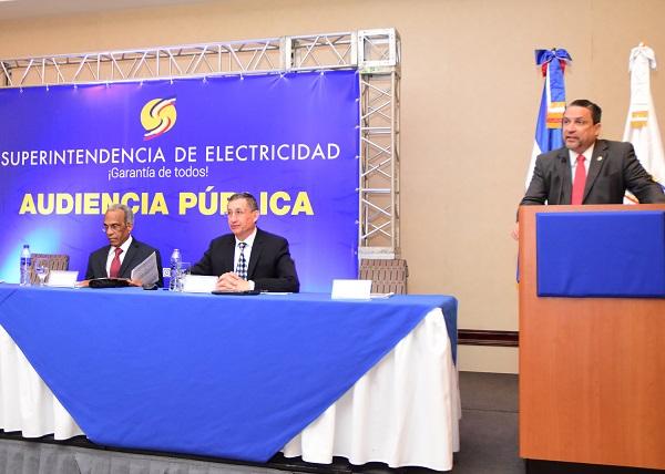 Superintendencia de Electricidad realizó audiencia pública
