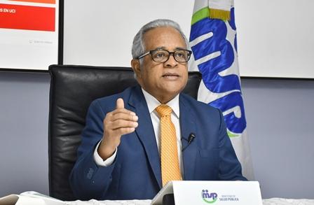 Rafael Sánchez Cardenas, Ministro de Salud Pública.