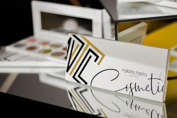 Nabila Tapia presentó su nueva línea de cosméticos