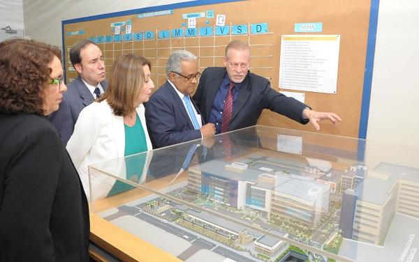 Ministro de Salud supervisa avances en construcción Ciudad Sanitaria Luis E. Aybar