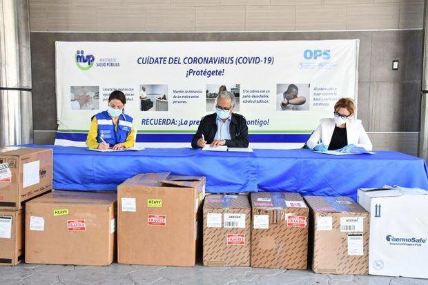 La OPS dona equipos e insumos para enfrentar la pandemia de Covid-19