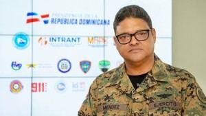 El director del Centro de Operaciones de Emergencias (COE), General de Brigada doctor Juan Manuel Méndez García