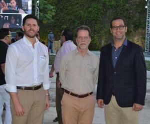 Carlos Ros, Luis José Cabral y Manuel Luna