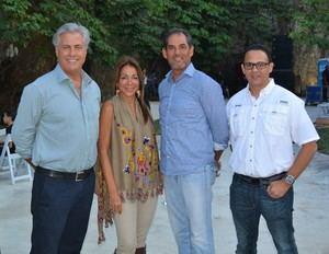 Edmundo Batlle, Rocío Jiménez, Marlon Bonelly Franklyn Pla