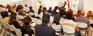 Participantes en el taller de Técnicas para la Conexión de Comercio con Centroamérica y El Caribe.