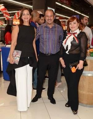 Claudine Nova Juan Isidro Guzmán y Rommy Grullón