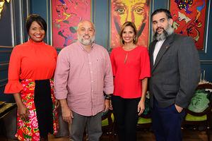 Zoila De León, Danny Lantigua, Jenny Abreu y Nelson Dumé.