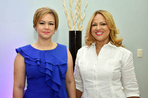 Dashira Martínez y Evamgelina Soler.