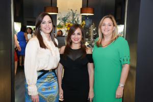 Dalia Sued, Laura PenŽa y Paola Pimentel.
