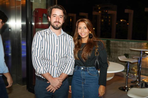 Daniel Czarlinski y Laura Sánchez.