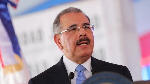Danilo Medina Sánchez, presidente de la República Dominicana.