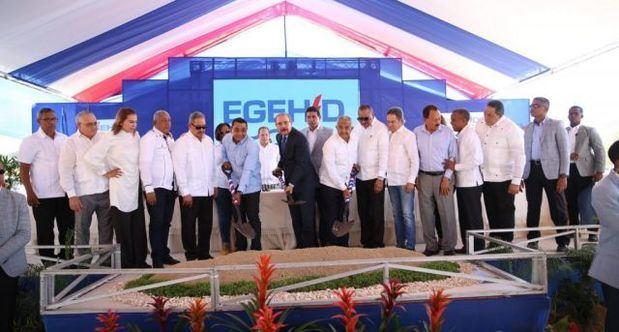 Presidente Danilo Medina da primer palazo construcción Presa Boca Los Ríos en Santiago Rodríguez