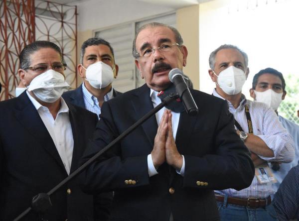 El presidente Medina pide que se respeten los resultados electorales