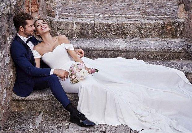 """David Bisbal y Rosana Zanetti contraen matrimonio en una """"discreta"""" boda"""