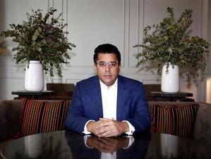 El ministro dominicano de Turismo, David Collado, mantiene una entrevista con EFE con motivo de la celebración de la Feria Internacional de Turismo de Madrid, Fitur 2021, que termina este domingo.