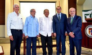Fernando  Ferran, Rafael Toribio, Juan Bolívar Díaz, Eddy Olivares, Francisco Álvarez Valdez