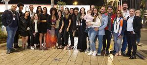 Parte de la Delegación Dominicana en Cannes