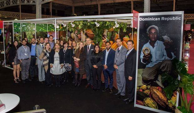 CEI-RD acompaña productores de cacao al London Chocolate Show