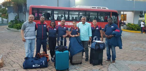 Delegación de gimnasia parte a Lima con gran optimismo