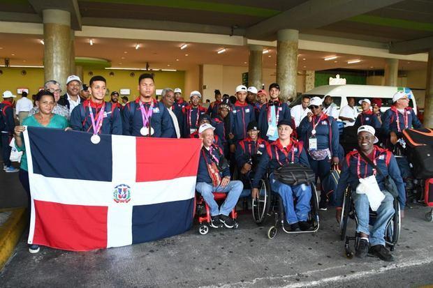 Delegación dominicana en los Panamericanos