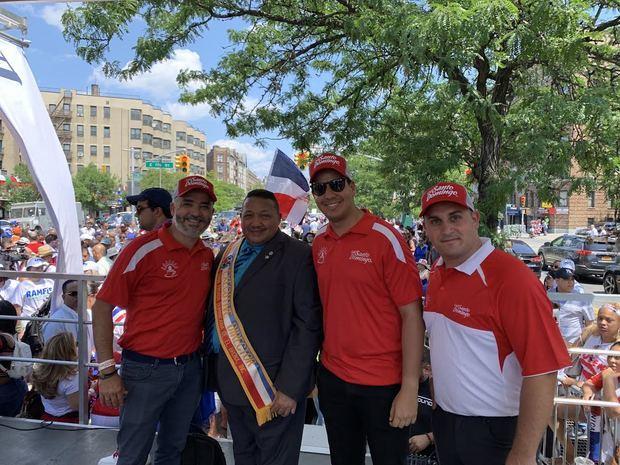 Omar Rodríguez, Felipe Febles, Nelsón de los Santos y Josh Badia.