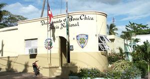 Destacamento Policial de Boca Chica.