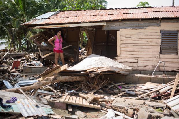 Población afectada huracán Irma. Septiembre 2017.