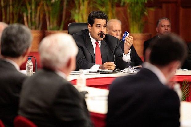 Diálogo de paz entre el gobierno del Presidente Nicolás Maduro y de la oposición.